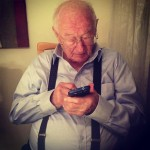 Omer Perchik's grandfather trying Any.do for the first time.