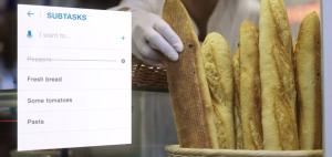 Shared grocery list task app