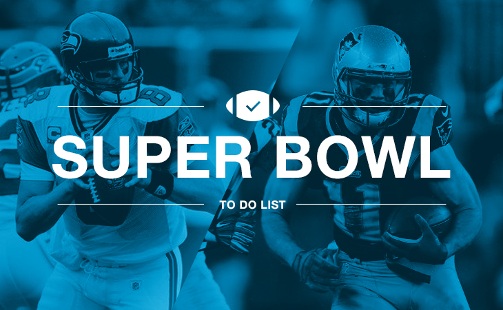 Super Bowl 2015 to-do list
