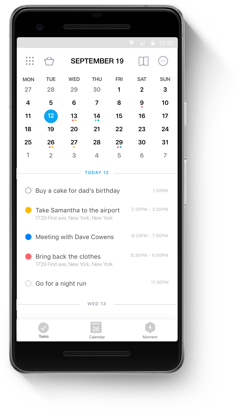 Android Calendar.The Best Calendar App For Android Any Do