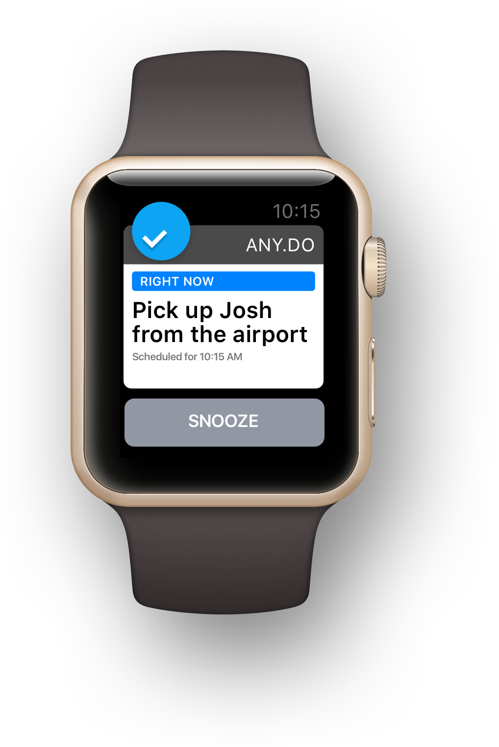 The Best To do list App for Apple Watch | Any do