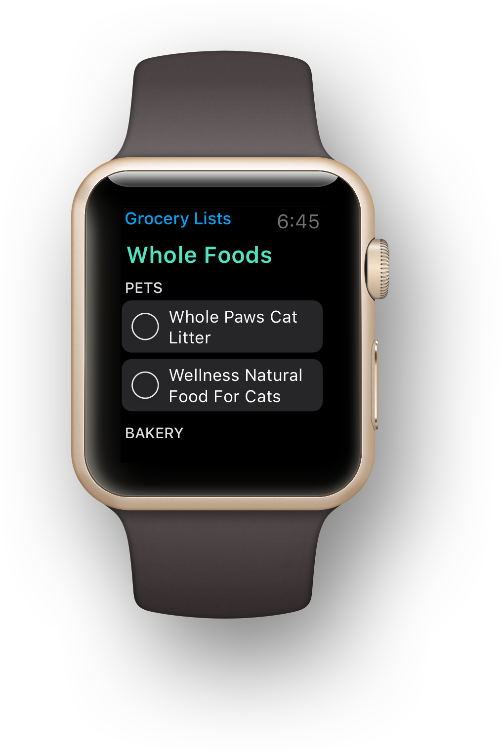 the best grocery list app for apple watch any do