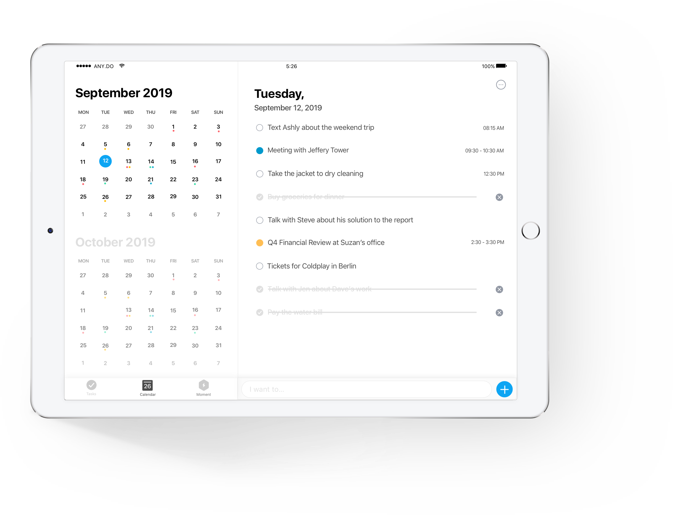 The Best Calendar App For Ipad Any Do