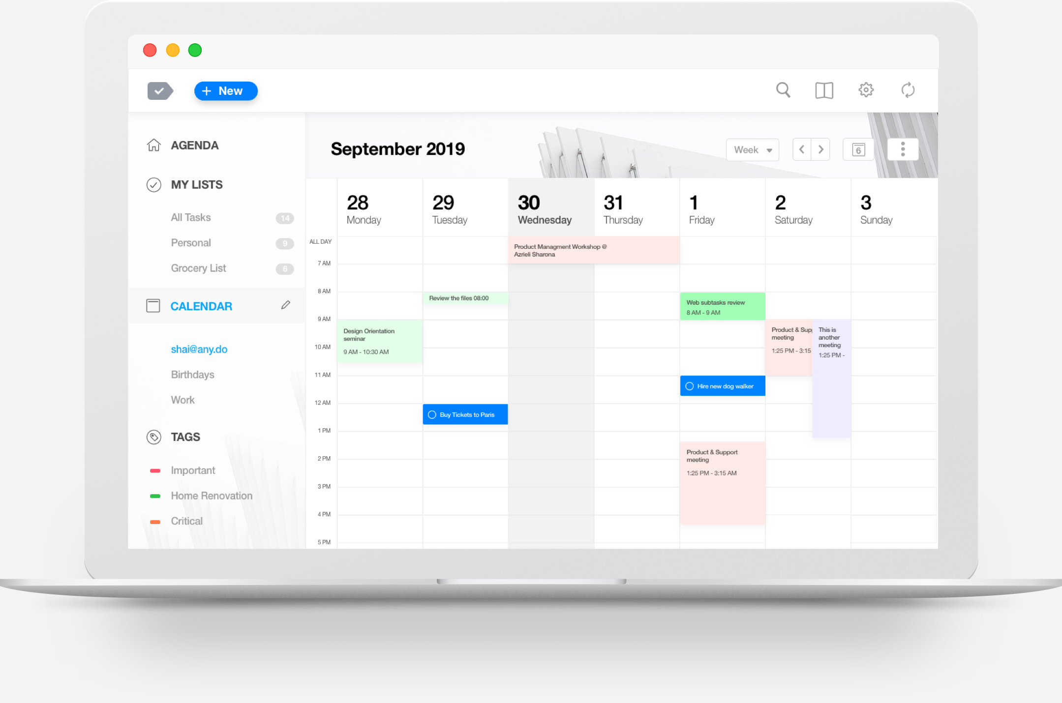 The Best Calendar App for Desktop | Any do