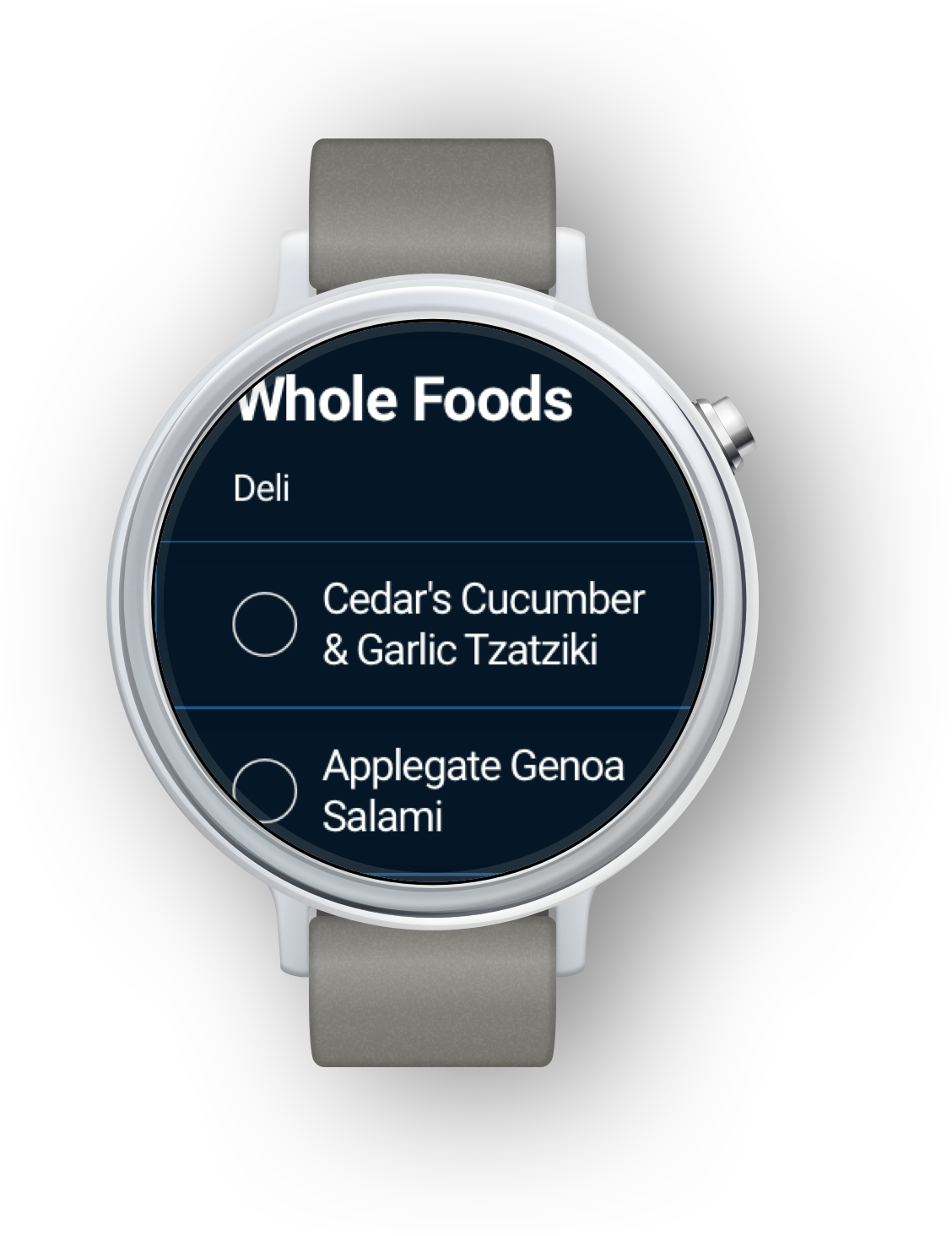 The Best Grocery list App for Google Wear | Any do